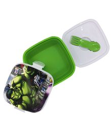 Funcart Incredible Hulk Lunch Box - Green & White