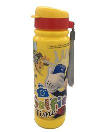 Funcart Mickey & Friends Insulated Sipper Bottle Yellow Red - 350 ml