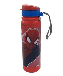 Funcart Spider Man Insulated Sipper Bottle Red Blue - 350 ml