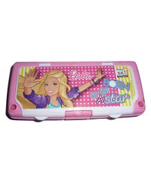 Funcart Barbie Pencil Box - Pink