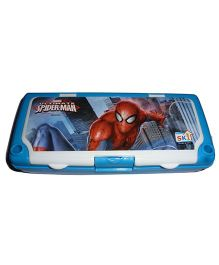 Funcart Spider Man Pencil Box - Blue