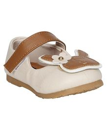 Buckled Up Bunny Mary Janes - Cream