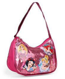 Disney Princess Sequin Hand Bag Pink - Length 7 inches