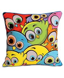 Swayam - Digital Bird Print Kids Cushion Cover