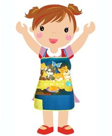Swayam - Digitally Kittens Printed Kids Apron