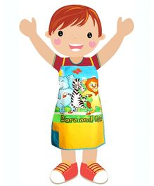 Swayam - Digitally Animal Printed Kids Apron