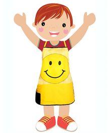 Swayam - Digitally Smiley Printed Kids Apron