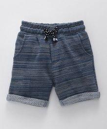 Fox Baby Turn Up Hem Shorts - Light Blue