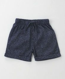Fox Baby Solid Color Shorts - Navy Blue