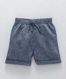 Fox Baby Solid Color Shorts - Blue