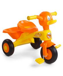 Mee Mee Musical Tricycle With Rear Basket - Yellow & Orange