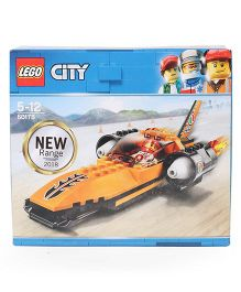 Lego City Speed Record Car Multicolor - 78 Pieces