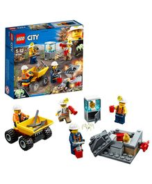 Lego City Mining Team Multicolor - 82 Pieces