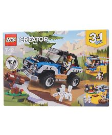 Lego Creator 3 in 1 Outback Adventures Multicolor - 225 Pieces