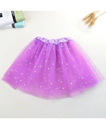 Hopsy Shimmer Net Tutu Skirt - Purple