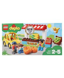 Lego Duplo Farmers Market Blacks Set - 26 Pieces