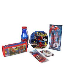 Marvel Spider Man School Kit - Red Blue