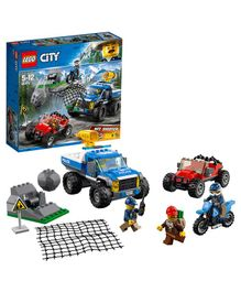 Lego City Dirt Road Pursuit Multicolor - 297 Pieces