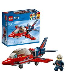 Lego City Airshow Jet Building Blocks Set - 87 Pieces