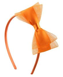 Yashasvi Shining  Hairband - Orange