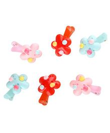 Yashasvi Flower Shape Tic Tac Pack of 6 Pcs - Multicolor
