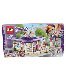 Lego Friends Emma's Art Cafe Building Block Set Multicolour - 378 Pieces