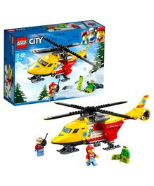Lego Ambulance Helicopter - Blue