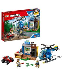 Lego Junior Mountain Police Chase Multicolor - 115 Pieces
