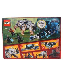 Lego Marvel Black Panther Face Off Building Block Set - Multi Colours