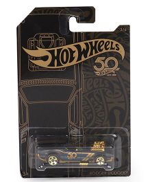 Hot Wheels Rodger Dodger Toy Car - Black & Gold