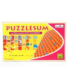 Creative's Puzzzlesum Number Game