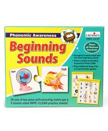 Creative Beginning Sounds Learning Game - Multicolour