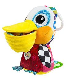 Lamaze Phillip The Pelican Clip On Soft Toy - Multicolour