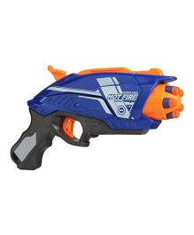 Emob Blaze Storm Soft Toy Gun With Foam Bullets - Blue Orange