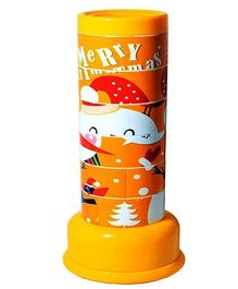 Adraxx New Snowman Puzzle Kaleidoscope - Yellow