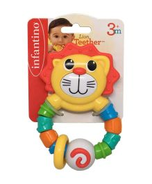Infantino Lion Teether - Multi Color