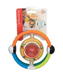 Infantino Orbit Baby Rattle - Multi Colour