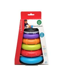 Infantino Stacking Rings Toy - Multcolour