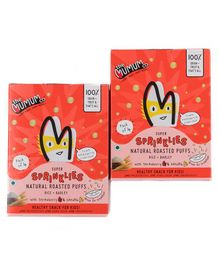 The Mumum Co. Strawberry Banana Sprinklies Pack of 2 Boxes - (20G x 4) Each