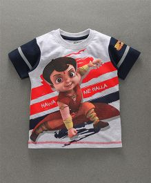 Chhota Bheem Half Sleeves T-Shirt With Free Toy - Grey