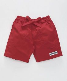 Child World Casual Shorts - Red