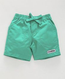 Child World Casual Shorts - Sea Green