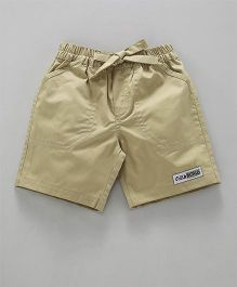 Child World Casual Shorts - Beige