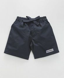 Child World Casual Shorts - Navy Blue