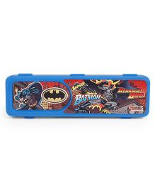 DC Comics Batman Print Pencil Box - Blue