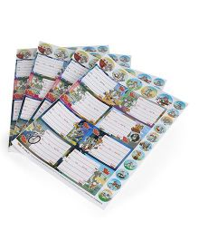 Tom and Jerry Printed Book Labels - 4 Sheets