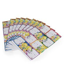 Tweety Printed Book Labels - 8 Sheets