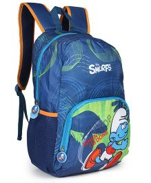 Smurfs Backpack Blue - 17 inches
