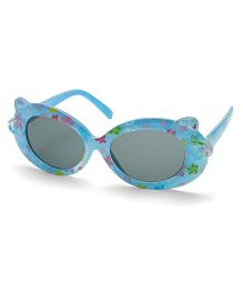 Babyhug Sunglasses UV 400 Protected Floral Design - Blue