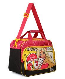 Barbie Duffle Bag - Black & Yellow